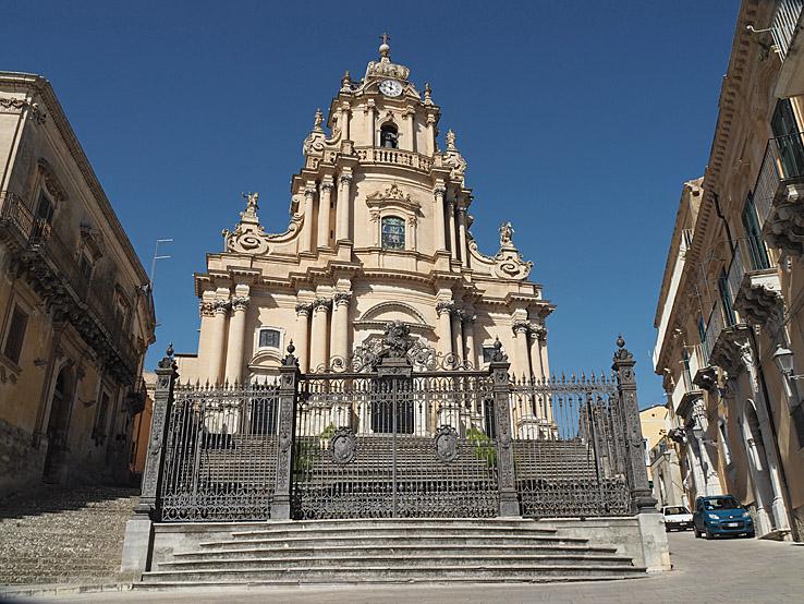 Il Duomo San Giorgio. Ragusa Ibla (U)