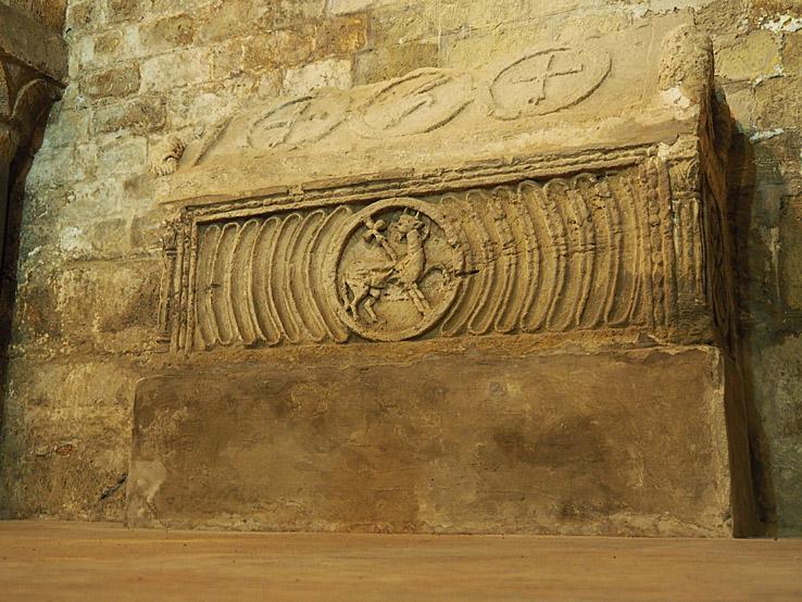 Grekisk kista från 1 000-talet. Katedralen. Palermo (U)