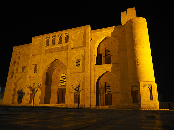 Khanaka madrasa. Bukhara (U)