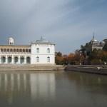 Sitorai-Mohi-Hosa, siste kungens sommarpalats. Haremsbyggnaden. Bukhara