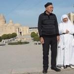 Kvinnor i vitt har besökt Mekka. Bukhara
