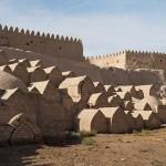 Begravningsplats innanför stadsmuren. Khiva (U)