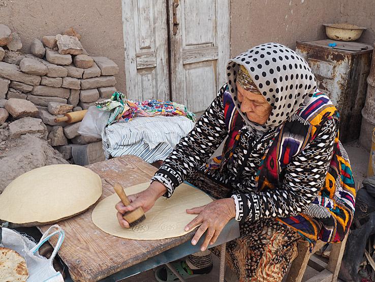 Brödbak. Khiva