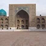 Tillya-Kari madrasa. Registantorget. Samarkand (U)