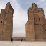 Aq-Sarai palatset. Shakhrisabz (U)