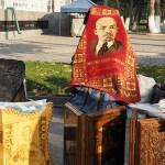 Än skymtar Lenin! Tashjent