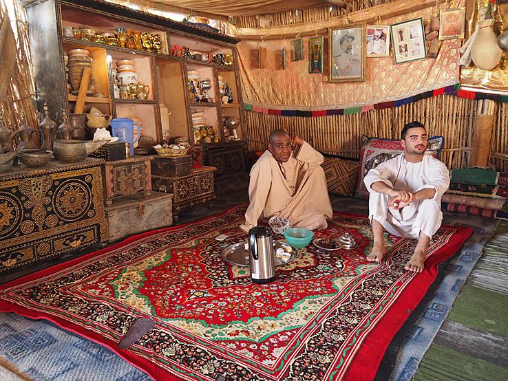 Hos beduiner. Wahibaöknen