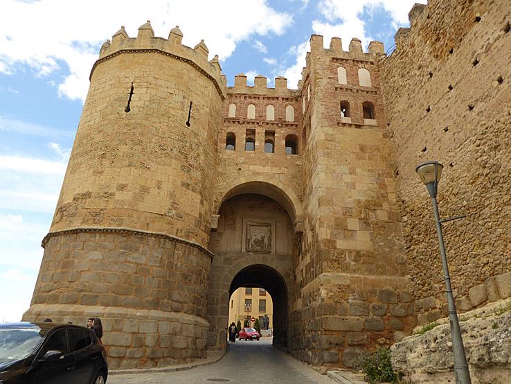 Puerta de San Andres. Segovia (U)