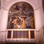 El Grecos mästerverk. Iglesia de Santo Tome. Toledo (U)