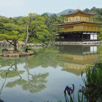 Kinkakuji templet. Kyoto (U)