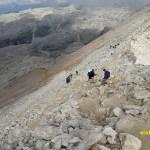 Vandring mot berget Piz Boé, 2 900 möh (U)