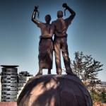 Frihetsmonumentet vid Alte Feste. Windhoek
