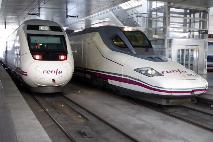 Snabbt genom Spanien med AVE-tågen. Madrid