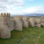 Del av stadsmuren. Avila (U)