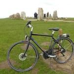 Cykla på Österlen. Ale stenar