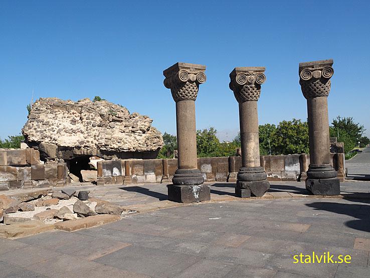 Zvartnots templet. Etchmiadzin. Armenien (U)
