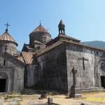 Klostret Haghpat. Armenien (U)