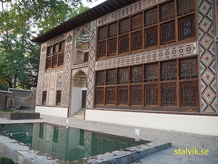 Khanpalatset Xan Saray. Sheki