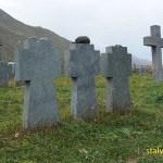 Tysk minneskyrkogård. Gudauri