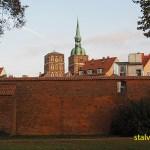 Stadsmuren. Stralsund (U)