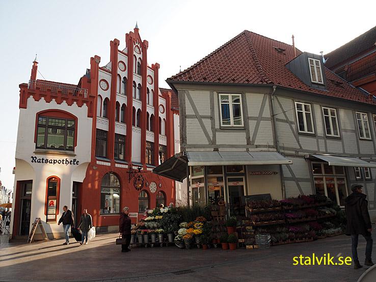 Det gamla apoteket. Wismar (U)