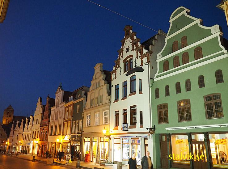 Världsarvsklassade gavelhus. Wismar (U)