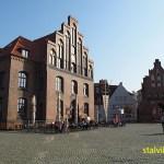 Det gamla tullhuset. Hamnen. Wismar (U)