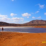 Vid saltsjön. Pedra Lume