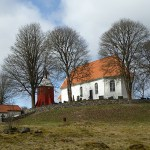 Finnekumla kyrka. Ätradalsleden