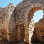 Det romerska badet. Aptera