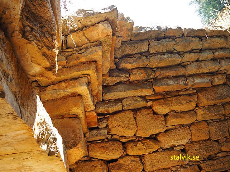 Den minoiska Tholos grav. Maleme