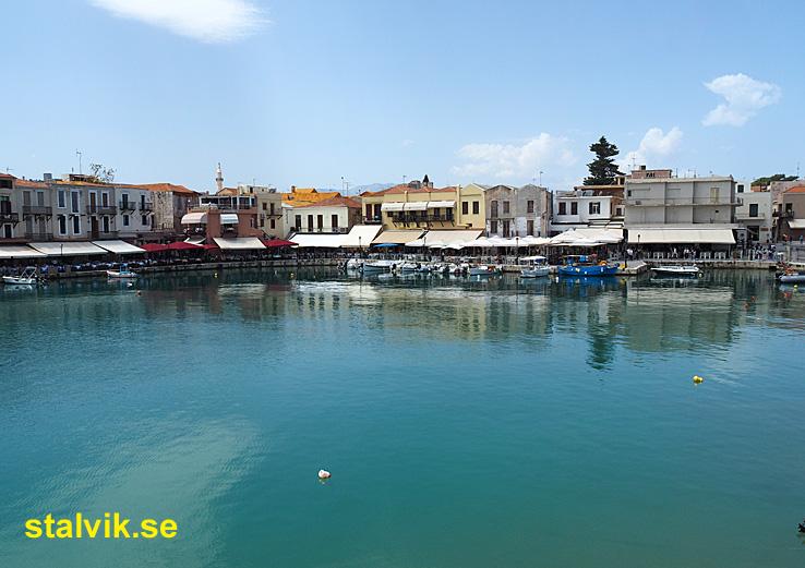 Venetianska hamnen. Rethymno