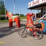 Cykla Siljansleden. Nusnäs