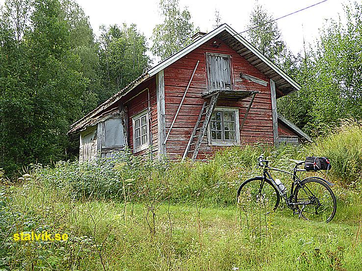 Cykla i Ludvika kommun. Grangärde finnmark