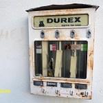 Den berömda Durexautomaten. Grangärde