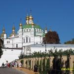 Övre Lavra-området. Kiev. Ukraina
