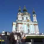 Den Helige Andreas kyrka. Kiev
