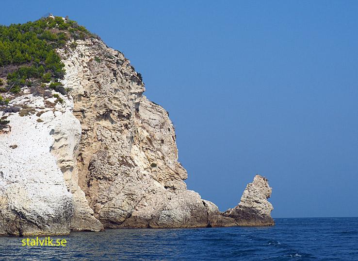 Italiens östligaste punkt. Parco Nazionale dei Gargano
