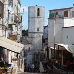 Vy från staden Monte Sant´ Angelo