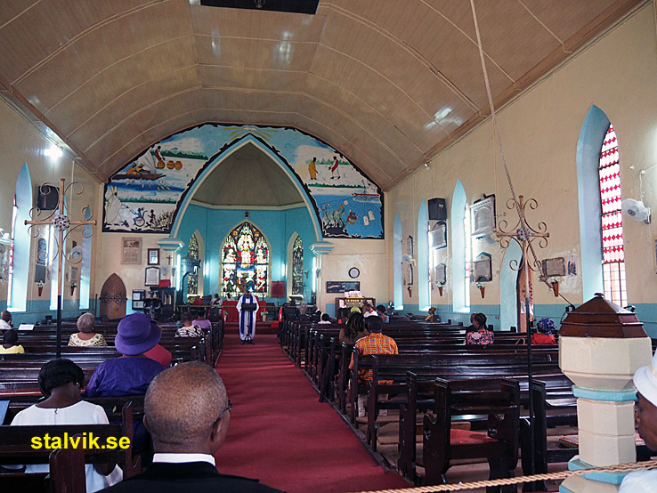Den Heliga Marias katedral. Banjul