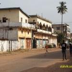 Stadsmiljö. Banjul