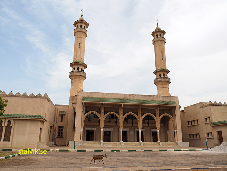 Kung Fahed moskén. Banjul