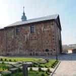 Kolozha kyrkan, stadens äldsta byggnad. Grodno