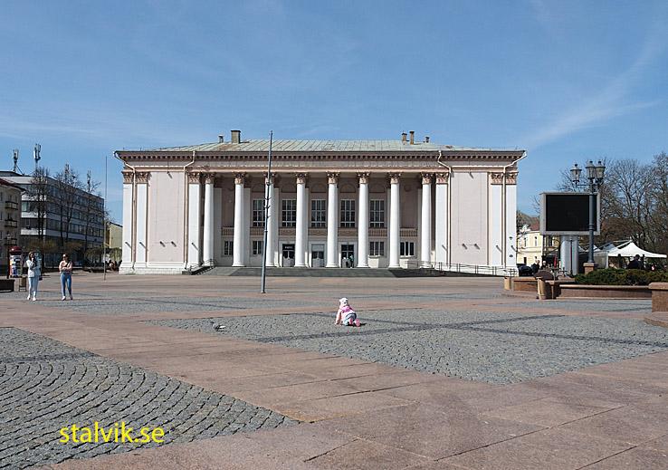 Sovyetskaya-torget. Grodno