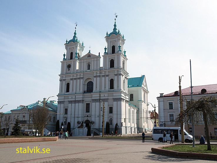 Den Helige Franciscus Xaviers katedralen. Grodno
