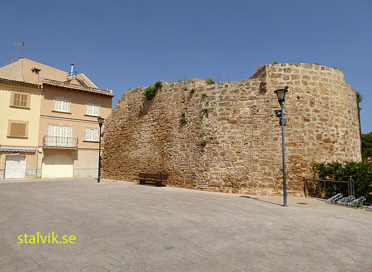Bastion Xara. Stadsmuren. Alcudia