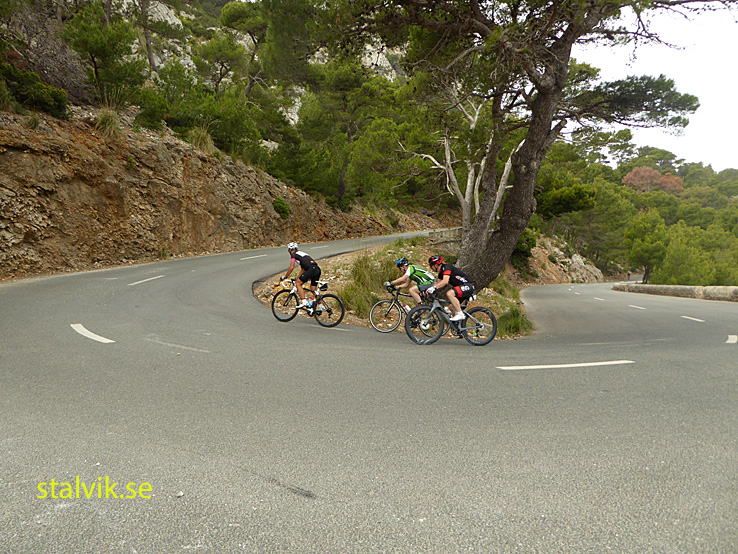 Cykling på Mallorca. Dag 02. Formentor