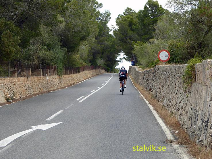 Cykling på Mallorca. Dag 03. Mot kusten från Petra