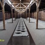 Manlig toalett. Koncentrationslägret Birkenau