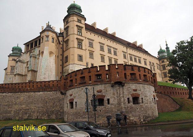 Wawelslottet. Krakow (U)